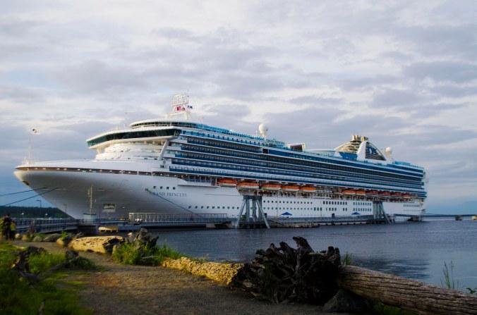 Nanaimo's last cruise ship visit in May with Princess Cruise line   Credit: Sean Helmn