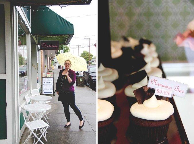 A Wee Cupcakery & the Nanaimo Bar Cupcake | Credit: Sean Helmn
