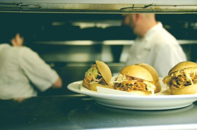 Pulled Pork & Coleslaw Sliders | Credit: Sean Helmn