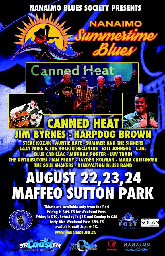 2014 Nanaimo Blues Festival | Credit: Nanaimo Blues Society