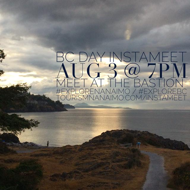Join us on BC Day for an Instameet!