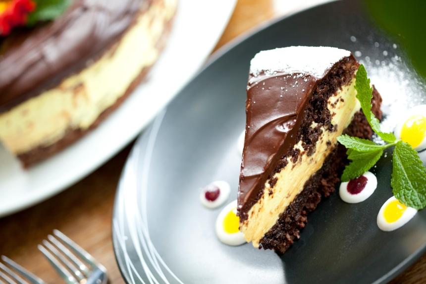 Nanaimo Bar Cake @ Real Food Fast Co.
