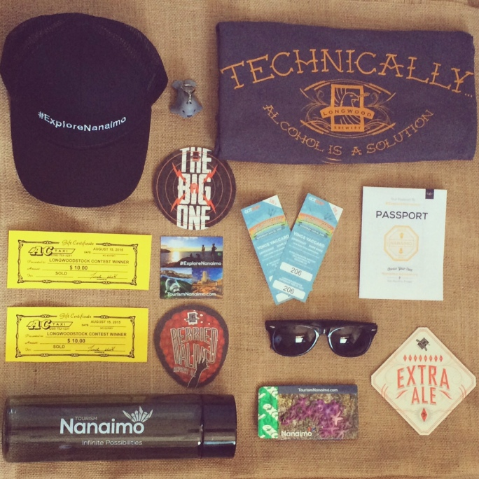 Follow @TourismNanaimo on Instagram for your chance to WIN this Longwoodstock Survival Kit!