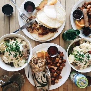 Selection of Breakfast Items at Gabriel's Photo by @Viranlly