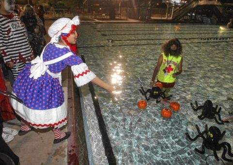 Not our pool but our Spooky Swim will be fun, too!