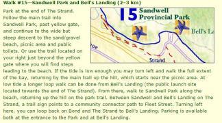 Sandwell Park Map & write up
