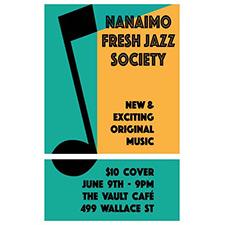 Nanaimo Jazz The Vault.png