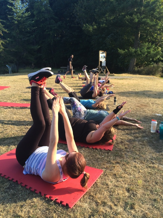 Neck Point Boot Camp 2